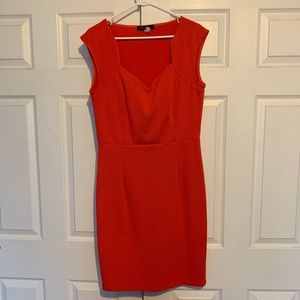 Peach Mid-Length Dress